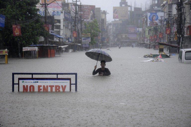 Inondazioni e frane in Nepal