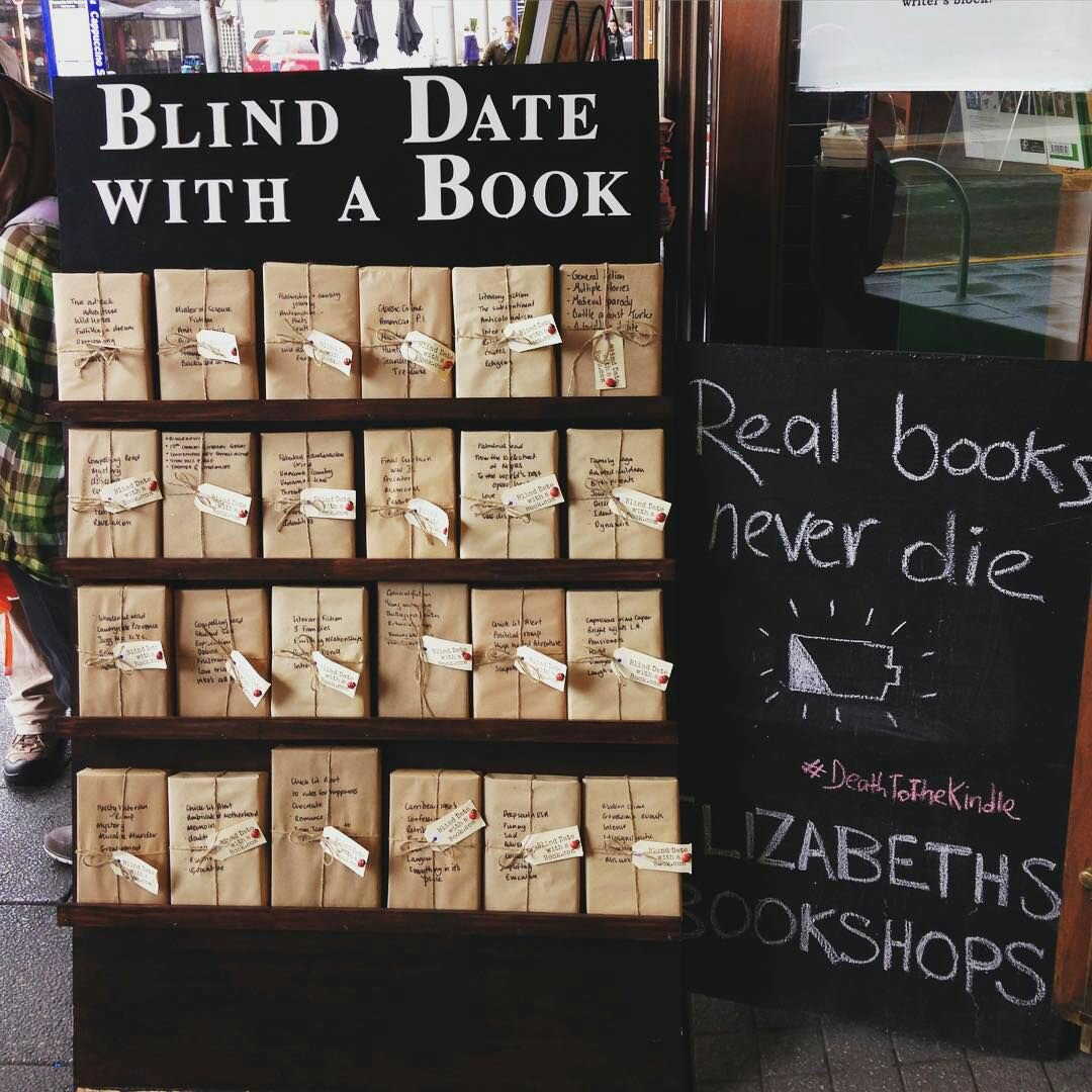 Ever had a blind date with a Book? Real books never die #ReadIt https://t.co/mhCctTogkR