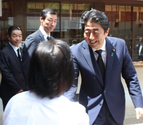安倍晋三首相「地域がよくならなければ日本の成長はない」 地元の花火大会で挨拶 sankei.com/…