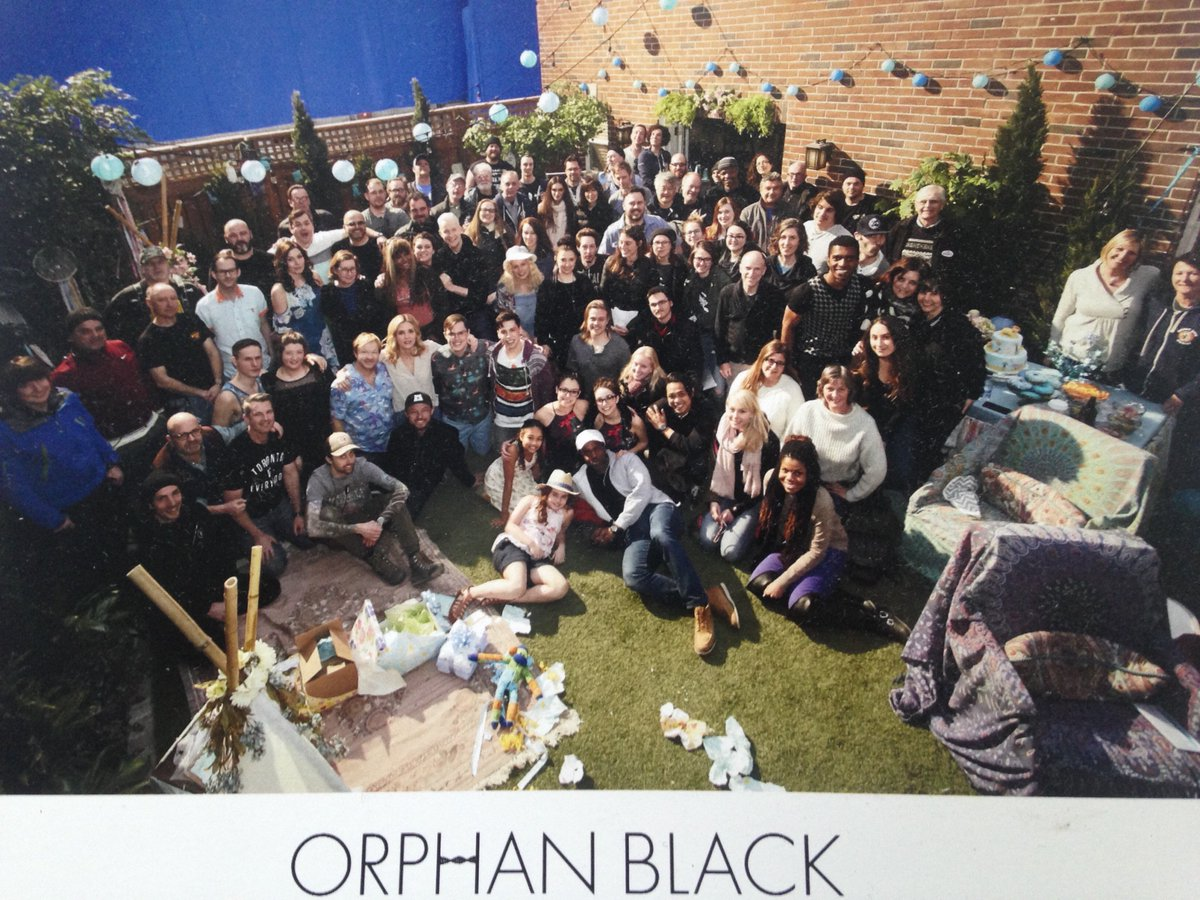Thank you #CloneClub from all of us @Orp...