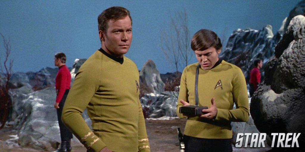 How would you spend a Sunday afternoon with Captain Kirk? #SundayFunda...
