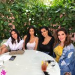 Beauty Brunch in Beverly Hills @jenatkinhair @hudabeauty @MonaKattan  ❤️💋
