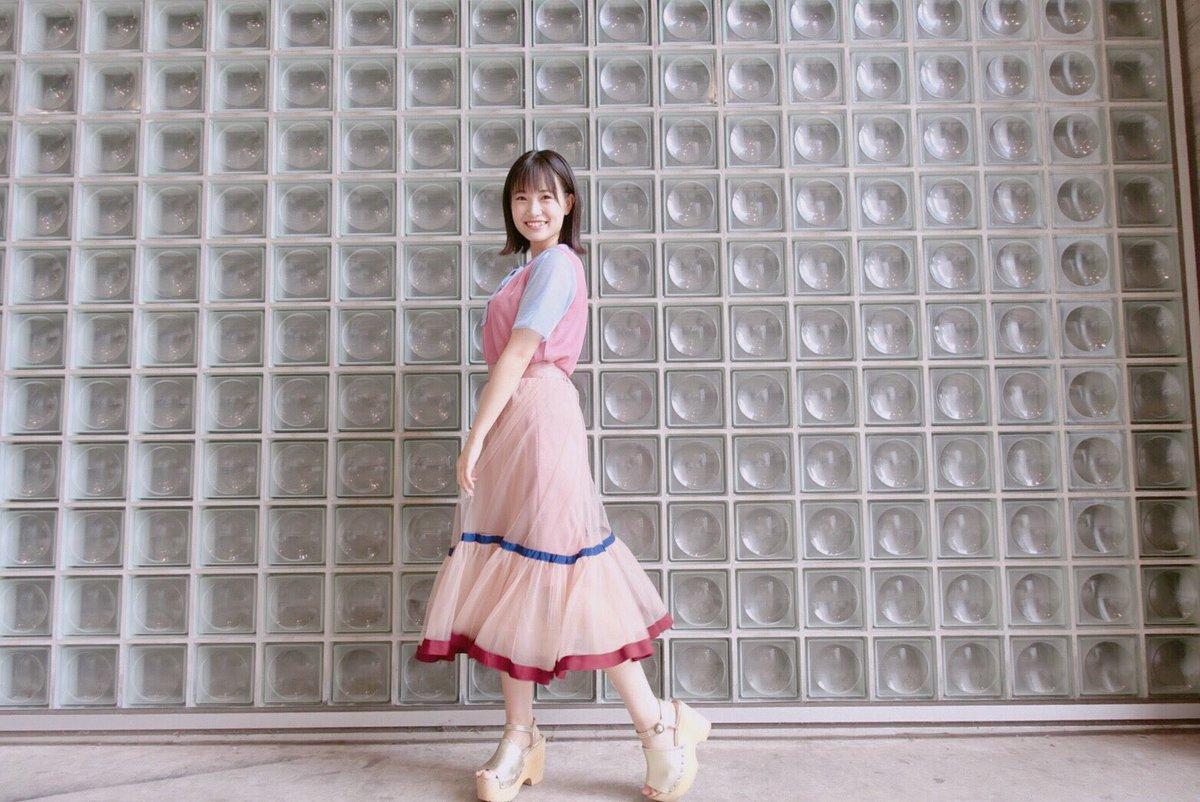 可愛い色合いのお洋服❤️ ふわふわ〜 ゆらゆら〜  #manonmimie #snidel #akb…