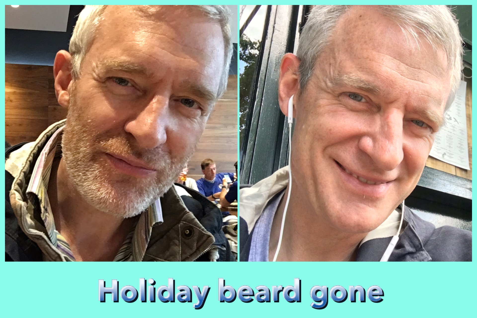 34% wasn't enough to save the summer beard — thanks for all the advice xxx https://t.co/ExP826GlJy