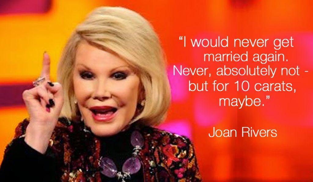 #WordsofJoan #JoanRivers https://t.co/iQVd5msPAY