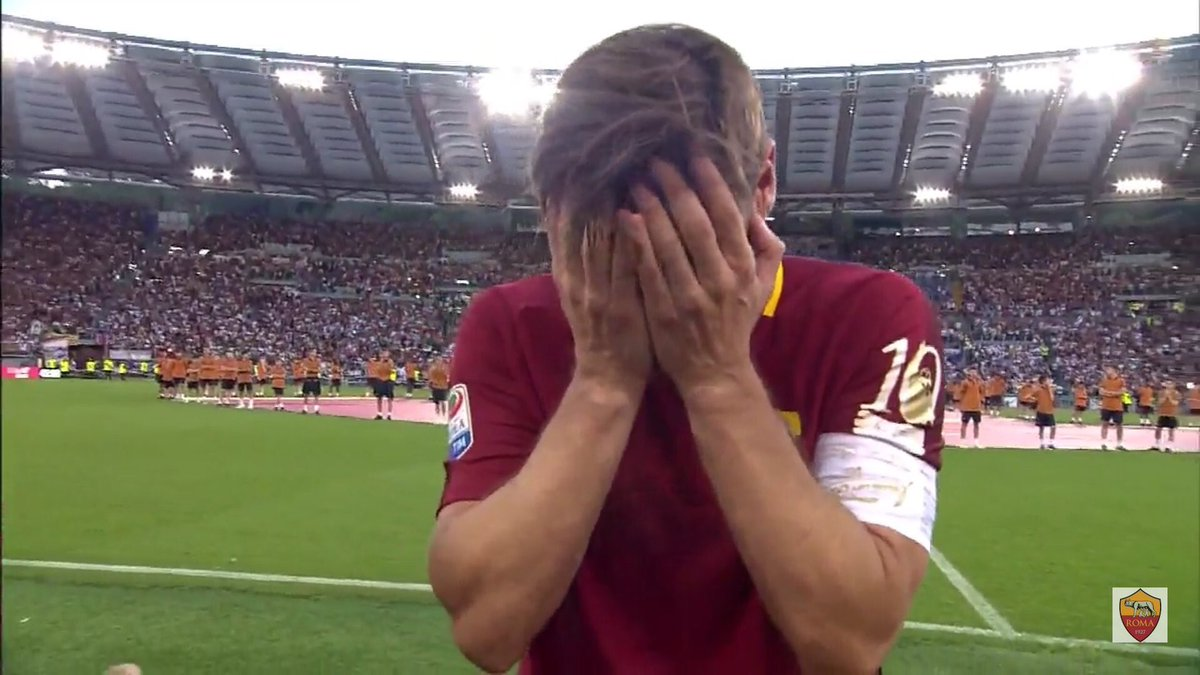 We all know which number will be missing from the #Roma squad this season ... #Totti... <br>http://pic.twitter.com/2oYE3s7mzX