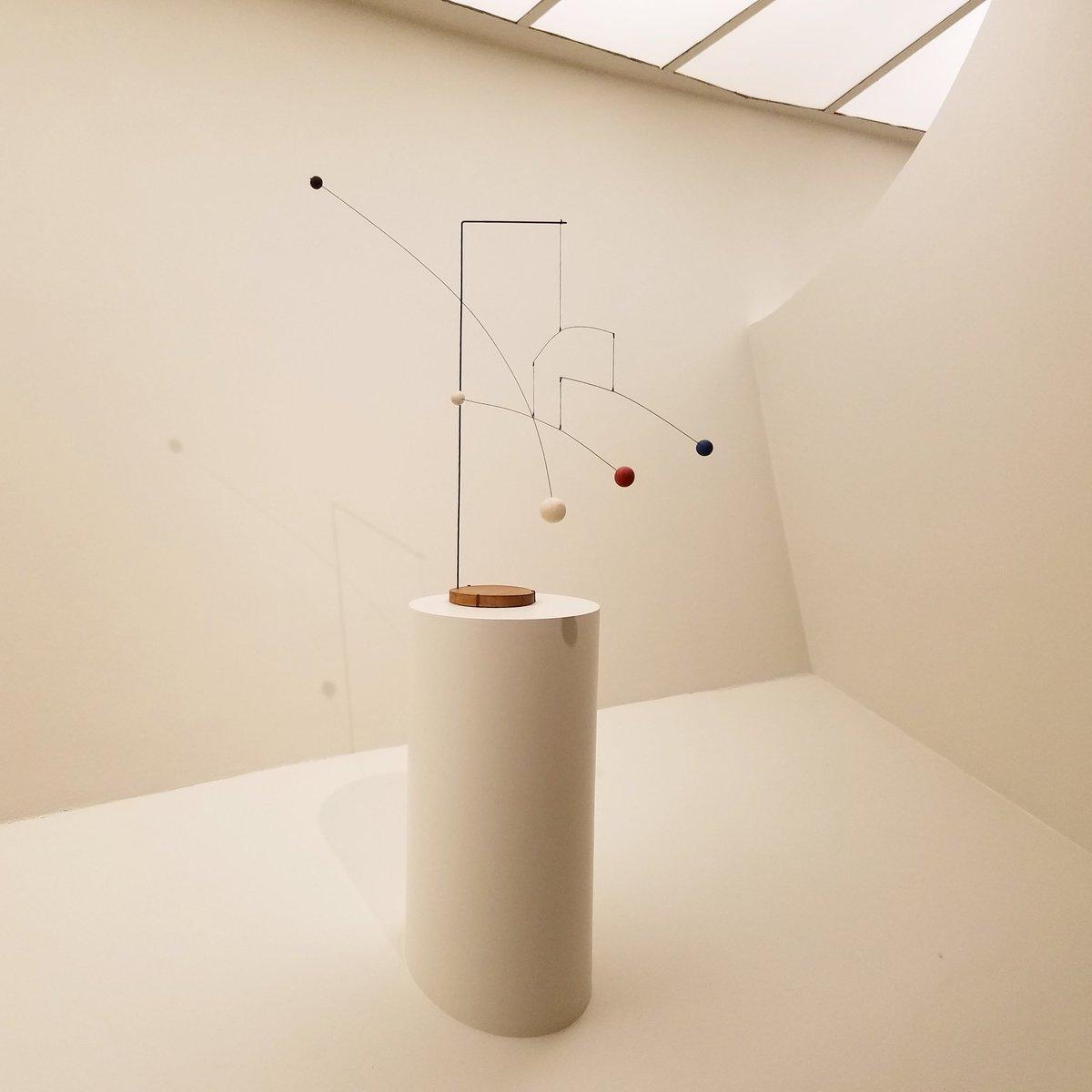 Playful... #Calder #Mobiles #Guggenheim<br>http://pic.twitter.com/eAbKm4lIpq