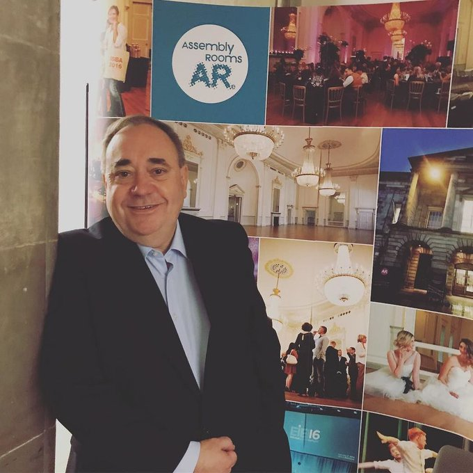 First @AlexSalmond show is done and was seriously something special! #MyAssembly