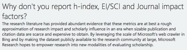 Yes! From @MSFTAcademic FAQ. #ScholarlyCommunication #Scientometrics #Bibliometrics #MicrosoftAcademic #Research #AcademicSearch #Microsoft<br>http://pic.twitter.com/1NNgqK0MH1
