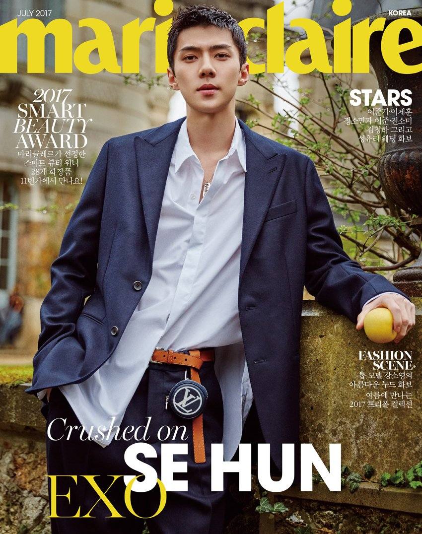 EXO's #Sehun is the Latest K-Pop Star that Fashion Needs to Keep its Eyes On. https://t.co/7PH3C8Vy2P