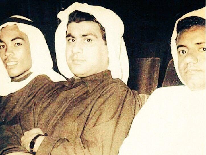 صورة نادره للفنان سعد الفرج و عبدالحسين...