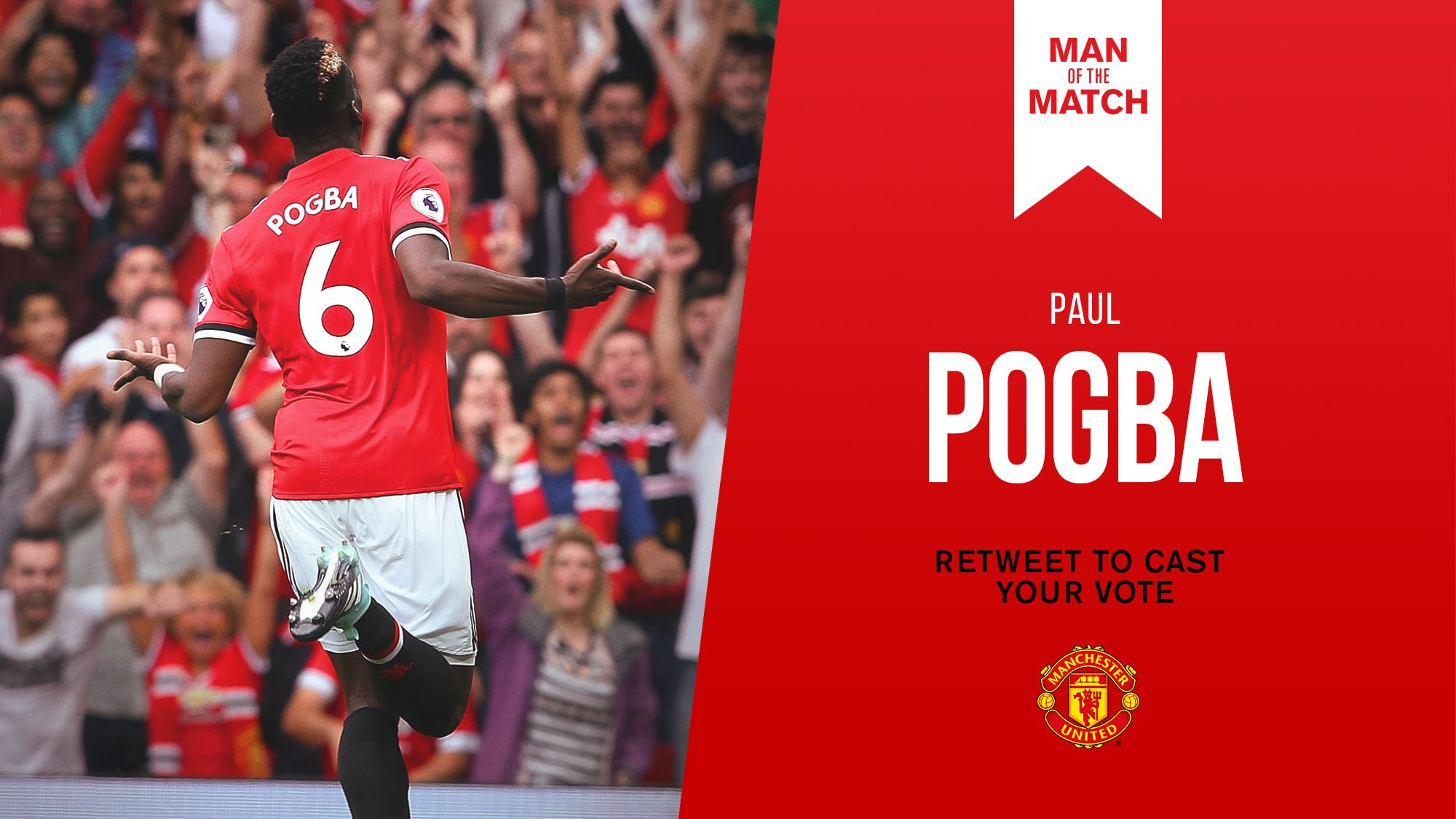 Retweet to vote for @PaulPogba as #MUFC's Man of the Match against West Ham. https://t.co/N1TAzHcyqS