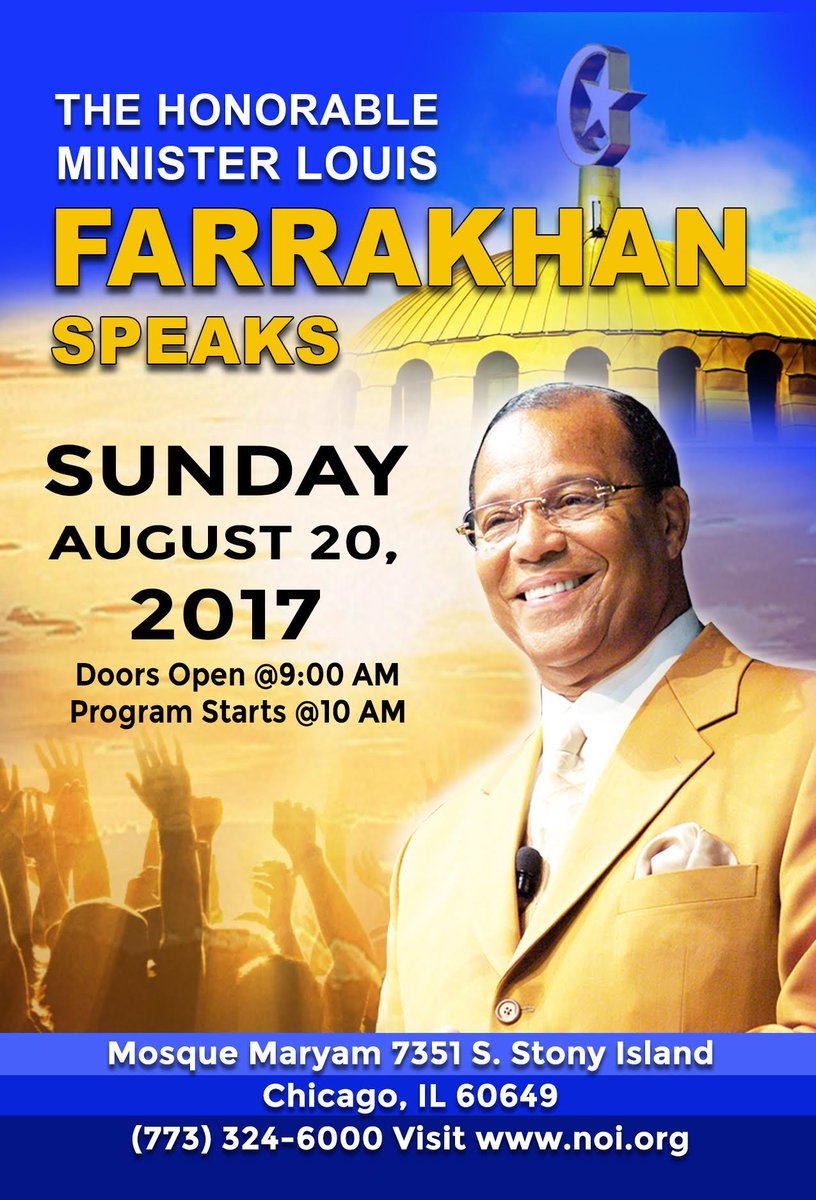Next Sunday, I will be speaking live at @mosquemaryam in Chicago. Be m...