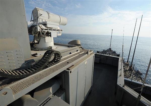 【米海軍の新兵器】見えず音もなし…正確無比で無限に撃てるレーザー 1発わずか1ドル脅威の経済性 sa…
