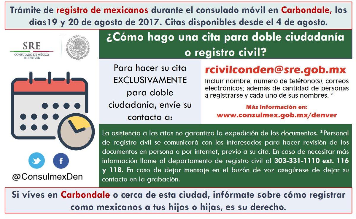 Excepcional Denver Certificado De Nacimiento Registro Civil Fotos ...