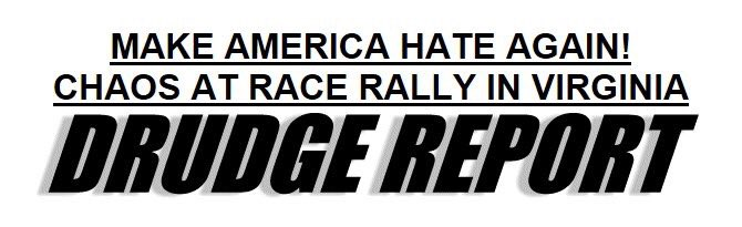 Has Trump lost Matt Drudge? Look at this headline from DR