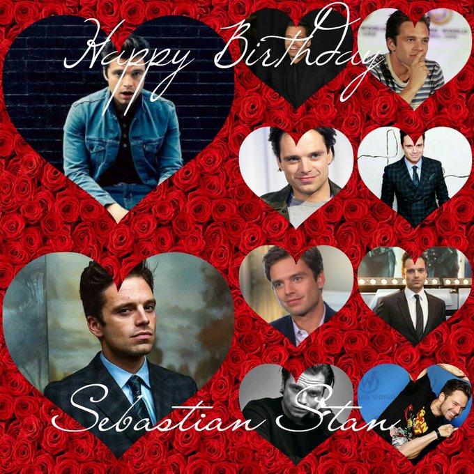 Happy Birthday Sebastian Stan , I Love So Much My Love!!