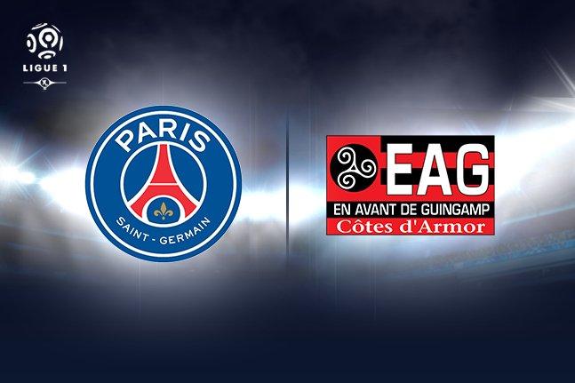 #PSG #Gabon Ligue 1 Neymar qualifié pour jouer avec le PSG face à Guingamp en Live au Yoka Sports Bar ce soir 19H @PSG_inside @neymarjr pic.twitter.com/mbxoKN0bnu
