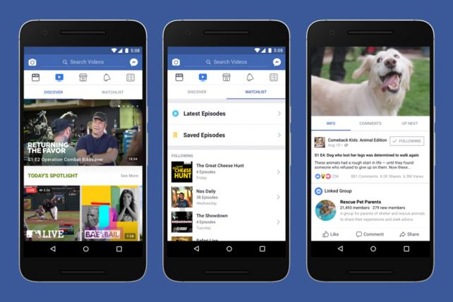 Facebook reveals 'watch,' its @YouTube competitor and TV clone https://t.co/O5Y4ls76qO https://t.co/GuHnCuNZ7N