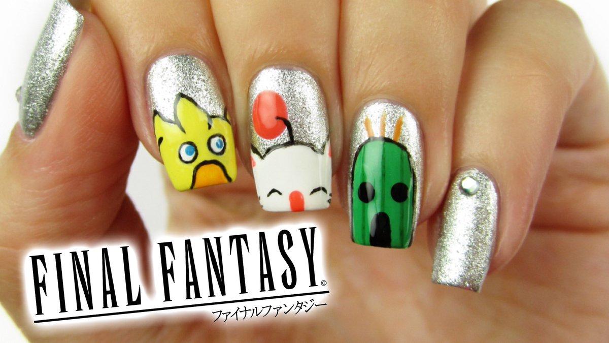 Cutepolish On Twitter New Video Final Fantasy Nail Art