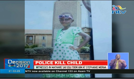 Kenyan Court Says Police to Blame for Death of 9-year-old Girl After 2017 Elections