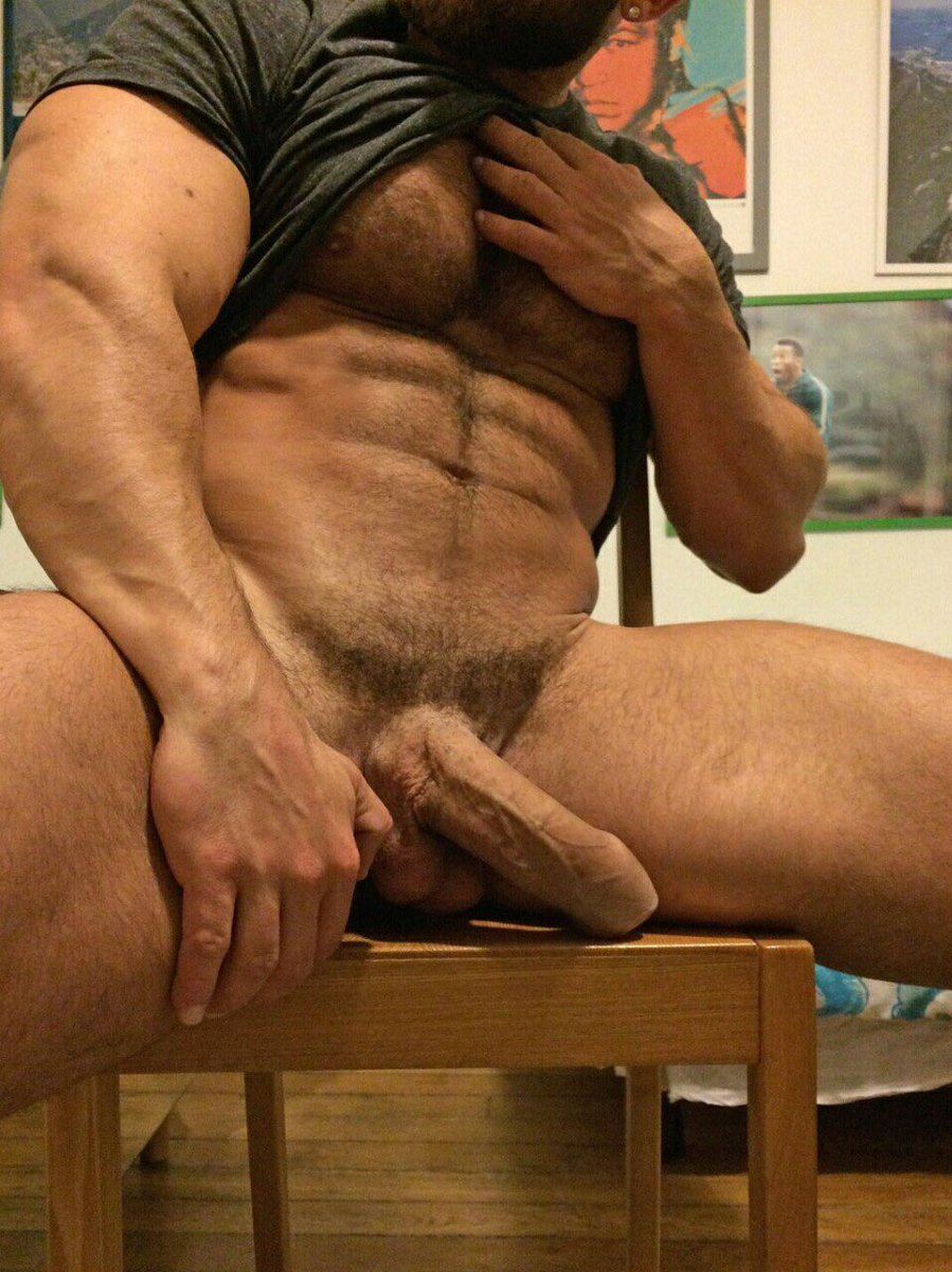 Hot Nude Man With A Big Penis