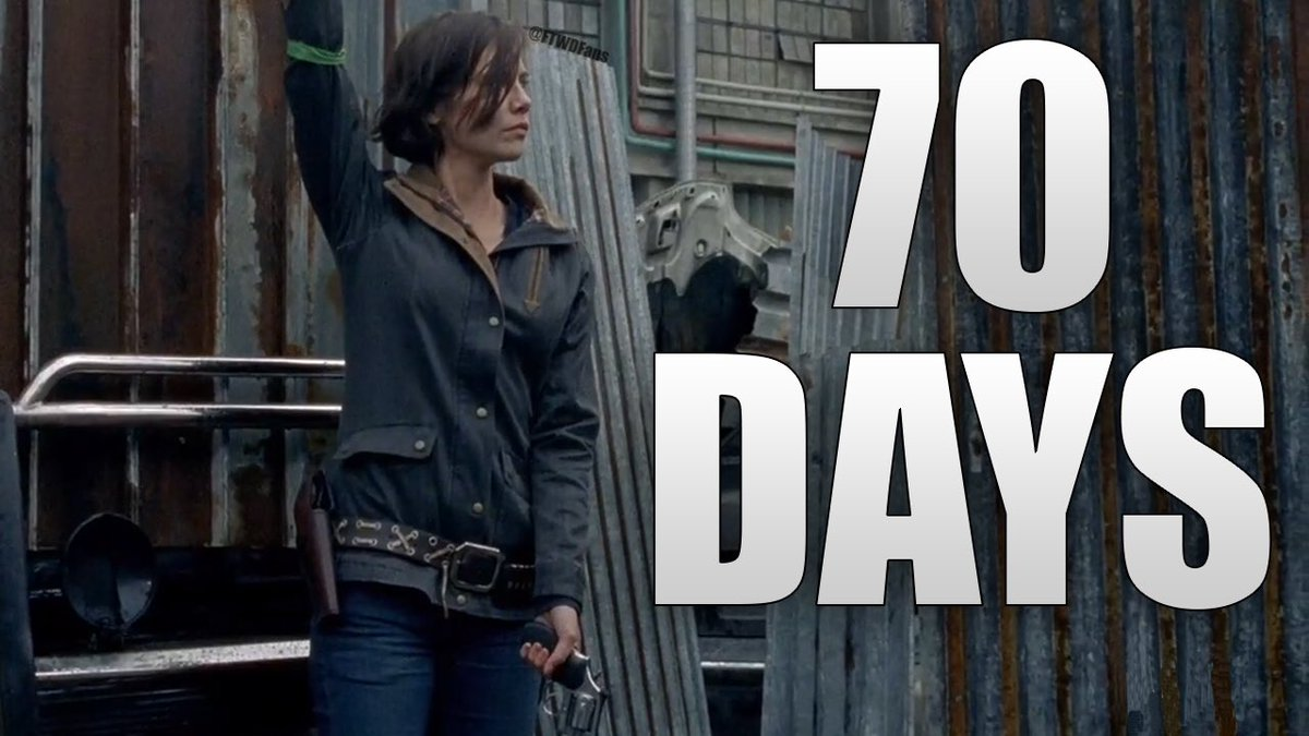 70 DAYS UNTIL #TWD SEASON 8!!!  Who&#39;s excited for #TheWalkingDead!?<br>http://pic.twitter.com/bG60ETht74