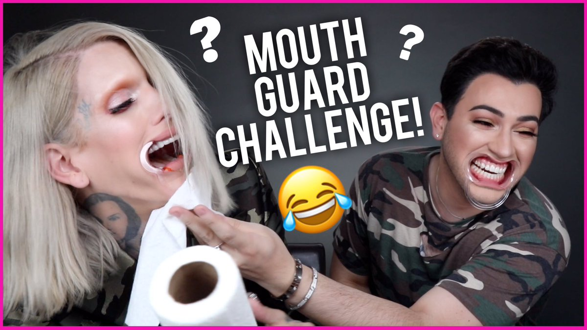 Manny Mua On Twitter Mouthguard Challenge With Jeffreestar Is Now