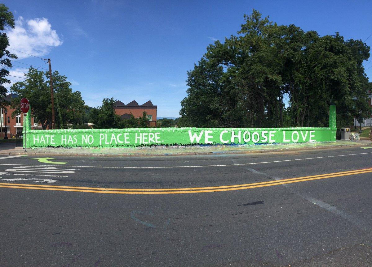 Beta Bridge today near @UVA Grounds https://t.co/3juJn24fY1