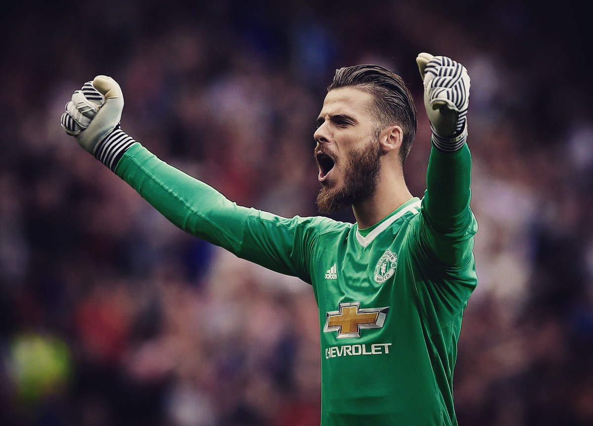 "David De Gea on Twitter ""What a feeling Great to be back with a"