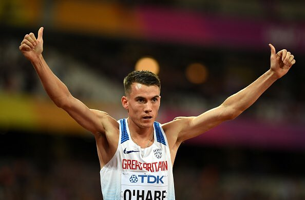 Time for another FINAL - this time it's 1️⃣5️⃣0️⃣0️⃣m! @chrisohare1500 goes for 🇬🇧🇬🇧🇬🇧🇬🇧  #REPRESENT #London2017