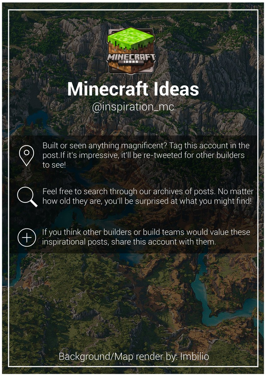 Minecraft Ideas (@inspiration_mc) | Twitter