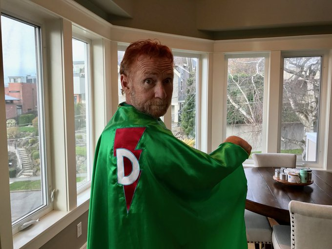 The most accurate depiction of Danny Bonaduce - Superhero! Happy Birthday, Danny!
