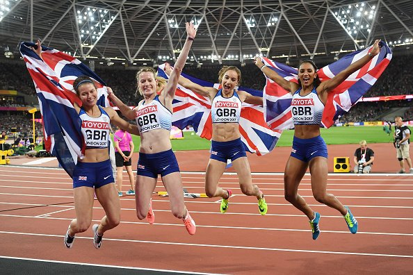 Amazing from our Women's 4x400m relay - a special performance for the silver medal!!!!🥈🥈🥈🥈  #REPRESENT #London2017