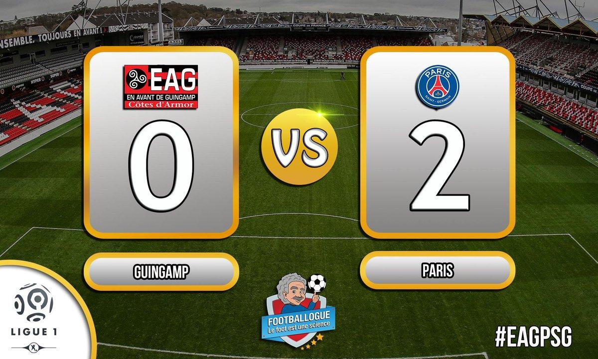 [#L1] GUINGAMP - PARIS  GOOOAAAAAAAAL CAVANI !!!!  #EAGPSG<br>http://pic.twitter.com/n6GFDQonTU