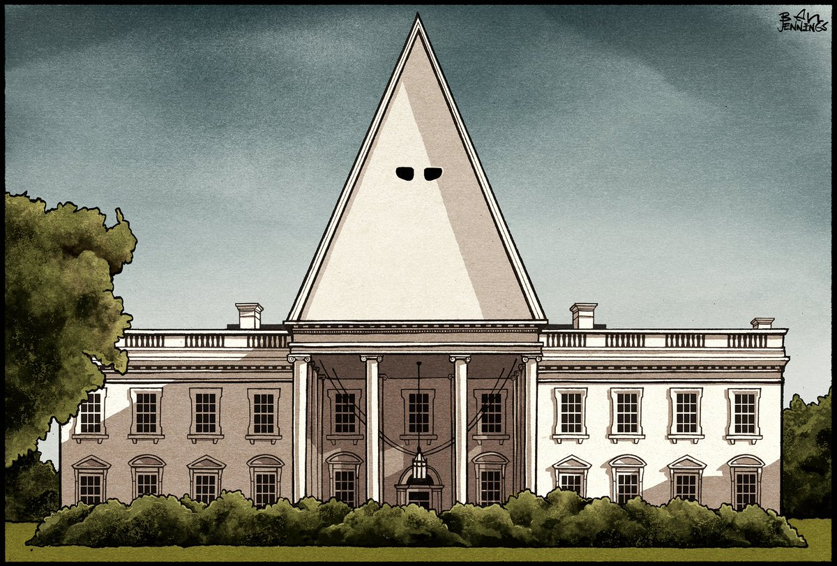 "ben jennings on twitter: ""the white (supremacist) house - latest"