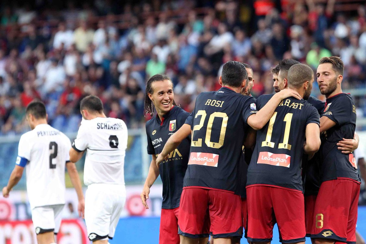 #Genoa needed extra-time to beat #Cesena 2-1 while #Verona eased to a 3-1 win over #Avellino in the third round of the #CoppaItalia. #TIMCup <br>http://pic.twitter.com/qXob5T4bQR