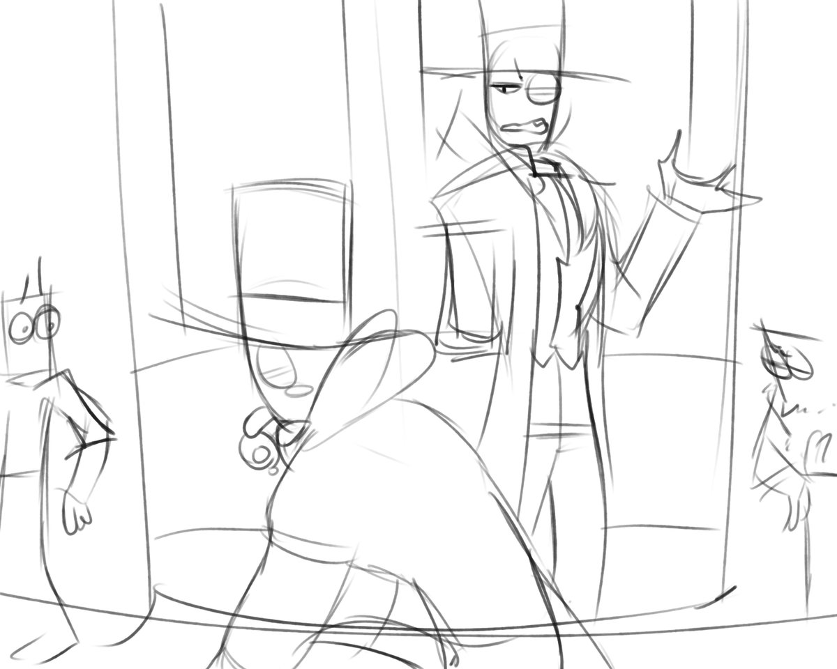 Also What&#39;s the use of feeling blue? Just a dumb draft Hueheheh #Villainous #au #su #heroic<br>http://pic.twitter.com/53vSaPsunS