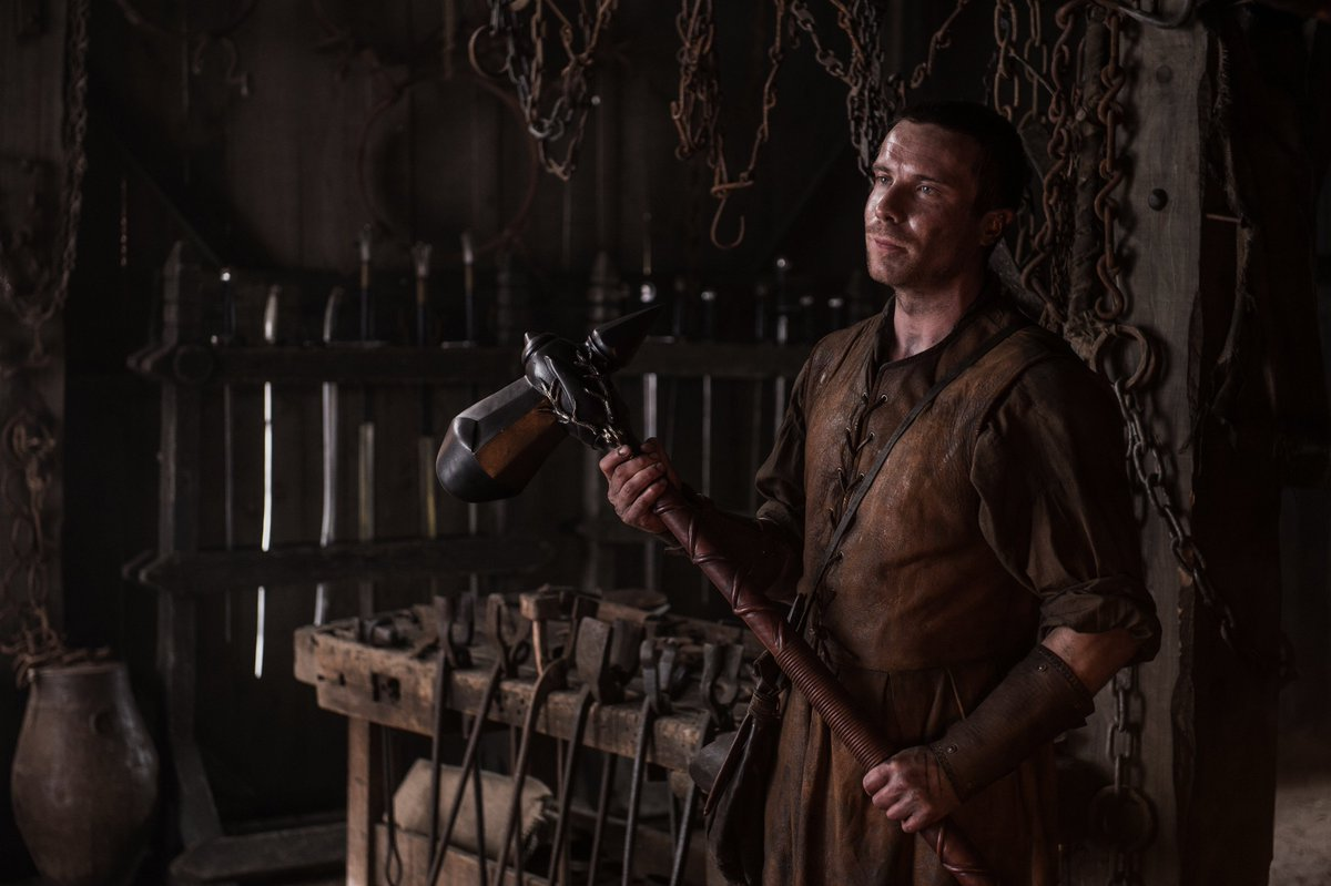 For the #Gendry fans. #GameOfThrones #HammerTime https://t.co/u1AE2L8yJ0