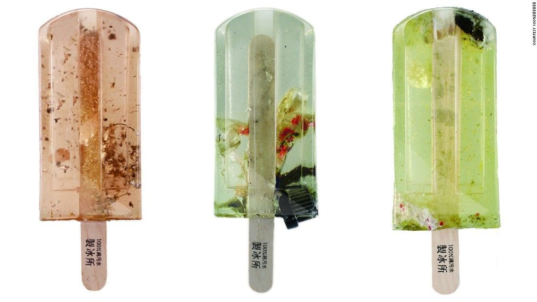 Students design pollution popsicles &amp; raise awareness about pollution in #water systems.  #Wastewater #Taiwan  https:// buff.ly/2vPBJ7V  &nbsp;  <br>http://pic.twitter.com/7Y4EeJexWN