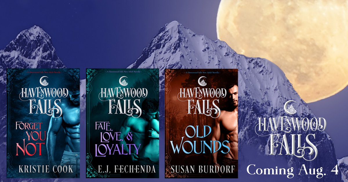 #MustReads  Forget You Not by @kristiecookauth, Old Wounds by @sburdorf, and Fate, Love &amp; Loyalty by @ebusjaneus  http:// havenwoodfalls.com / &nbsp;  <br>http://pic.twitter.com/YIJUTv3cu6