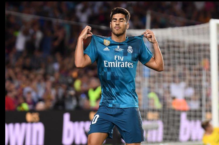 """نجم ريال مدريد بعد هدف أسينسيو قال لحكم المباراة : """"صفّر ضربة جزاء أخرى"""