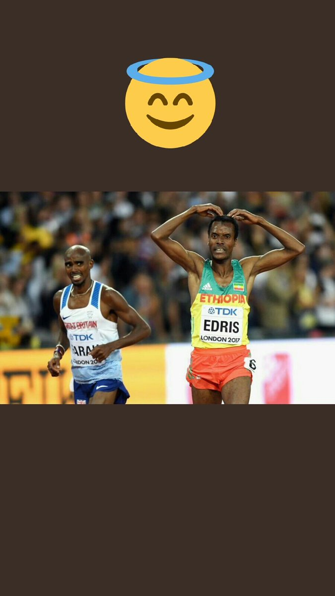 Quote this picture. #London2017 #running #trackandfield #5000m #MoFarah #Mochallenge #kingedris #Ethiopia #GreatBritain #iaaf #kenya<br>http://pic.twitter.com/0AOGRlfXbO