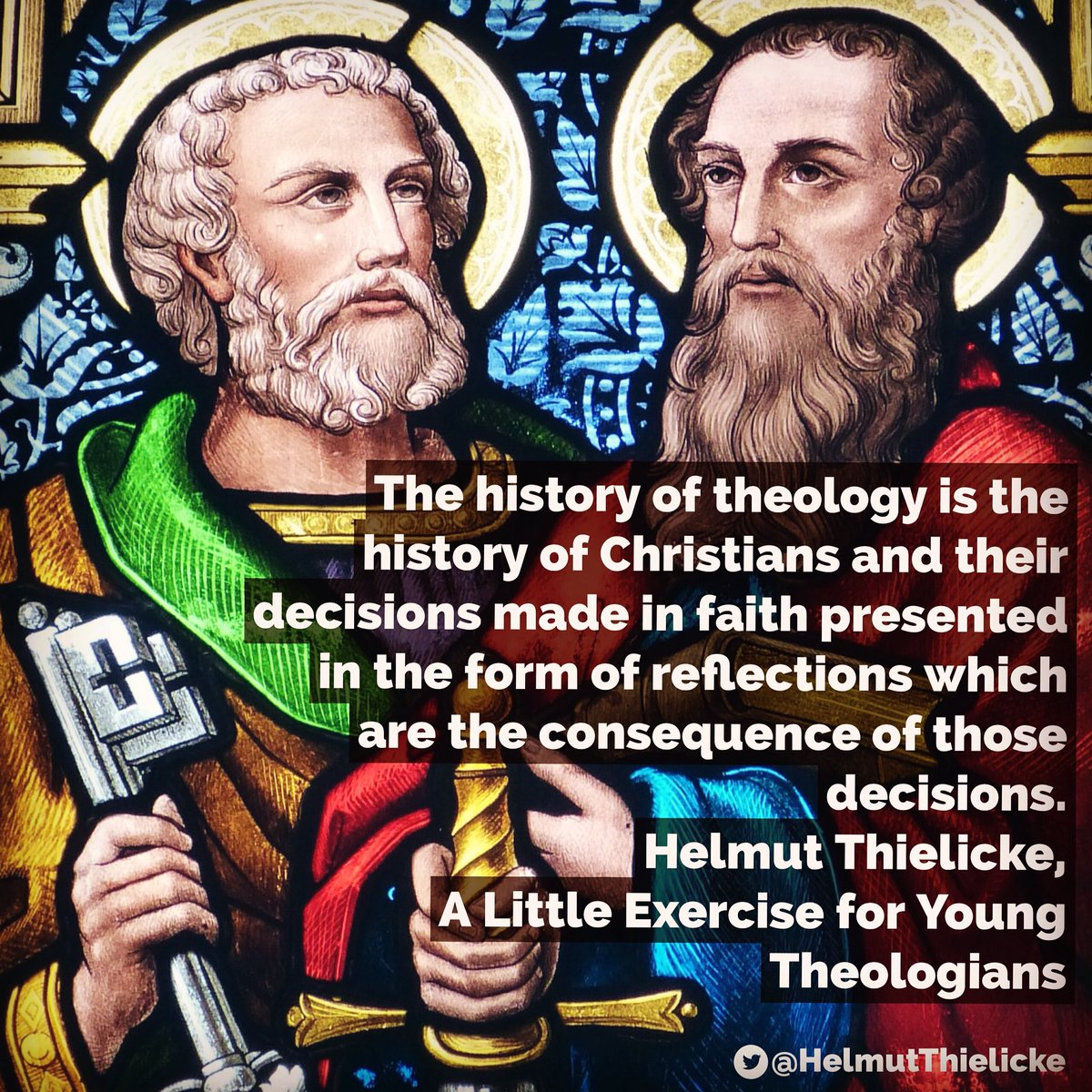 Helmut Thielicke On Twitter Helmutthielicke Helmutthielickequote Theology Christian Faith Christianhistory Alittleexerciseforyoungtheologians