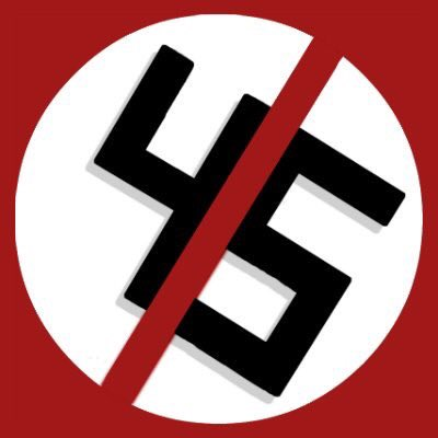 No Nazis! No room to thrive! No Fascist Forty Five! (Image not mine--credit?)