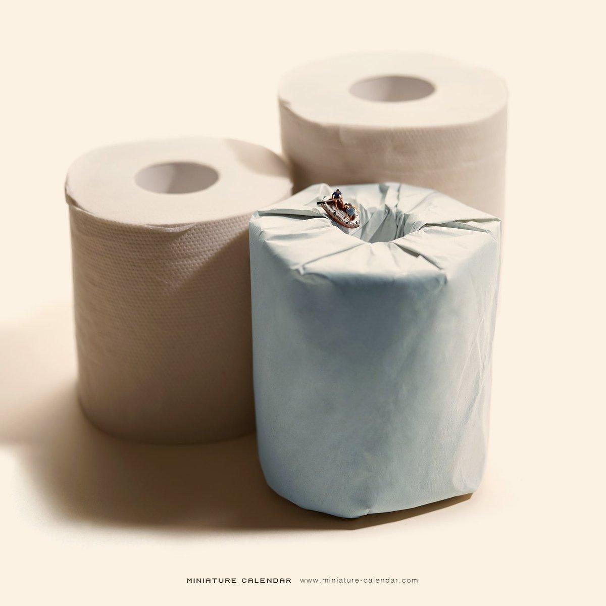 トイレの紙が無イアガラ