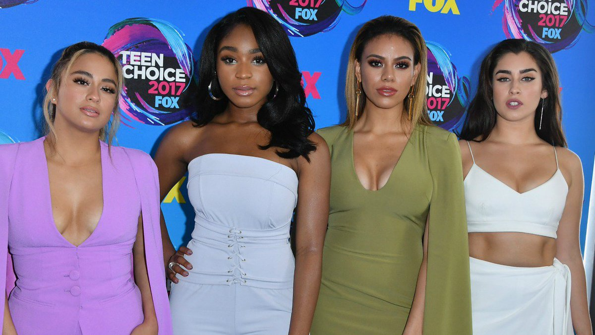 .@FifthHarmony came to slay at the #Teen...