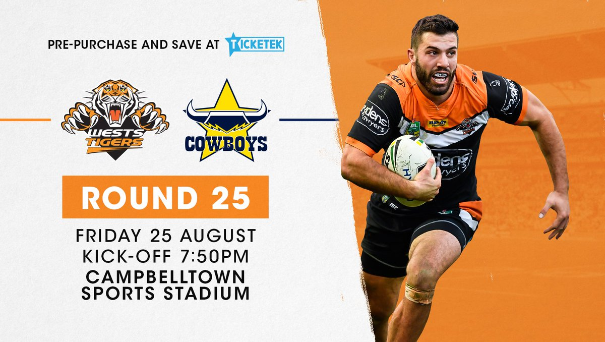 Be there for our final game of the year at Campbelltown Stadium for 20...