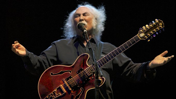 Happy Birthday to David Crosby, born this day in 1941