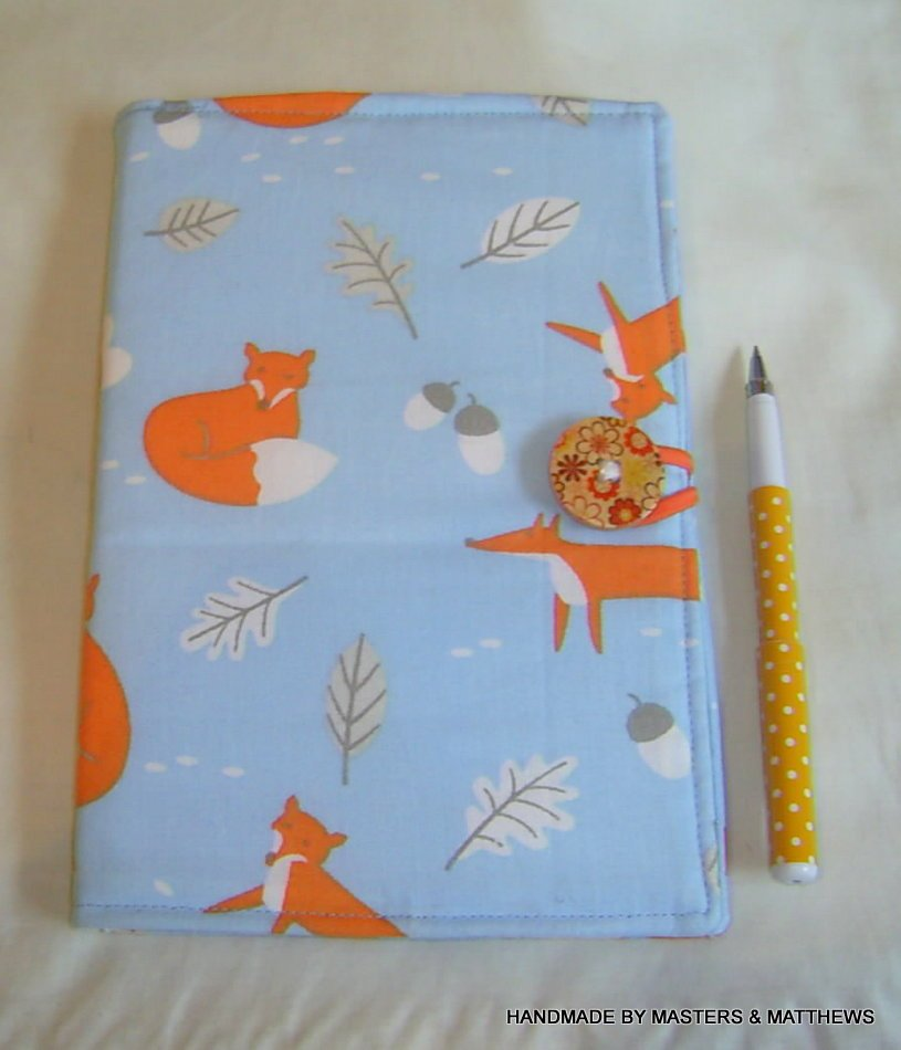 Lovely notebook for all those lists #writing #journal #stationery #fox #animals #etsy #earlybiz #backtoschool  https://www. etsy.com/uk/listing/520 047243/notebook-a5-hardback-journal-fox-fabric?ref=shop_home_active_20 &nbsp; … <br>http://pic.twitter.com/zL1FK8vbzi